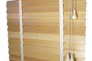 Dřevěná žaluzie - lamela 50 mm Retro