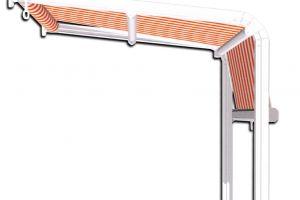 GIARDINO - horizontálně / vertikálně výsuvná markýza