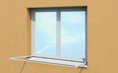 Okenní sušáky na prádlo