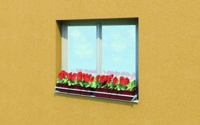 Předokenní držáky květinových truhlíků