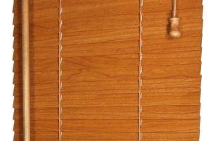 Dřevěná žaluzie - lamela 25 mm
