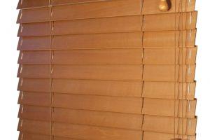 Dřevěná žaluzie - lamela 50 mm Klasik