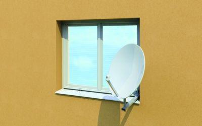 Okenní držáky satelitů